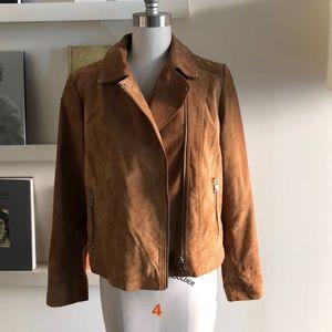 Forever 21 Jackets & Coats - Forever 21 Faux Suede Biker Jacket